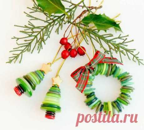 Такие милые и простые поделки к Новому году | Очаровашки | Яндекс Дзен