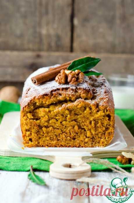 Тыквенно-овсяный кекс с орехами и пряностями – кулинарный рецепт