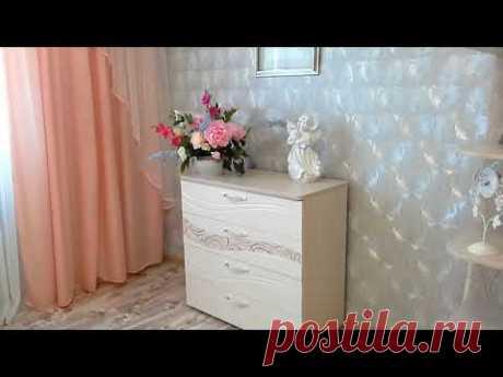 Бюджетный ремонт и дизайн спальни.