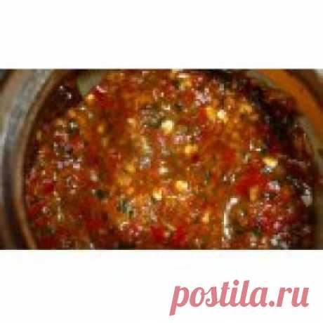 Аджика Злее кобры Кулинарный рецепт