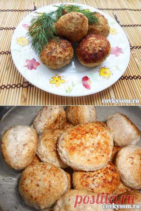 Вкусные котлеты из курицы и гречки | Домашняя кулинария