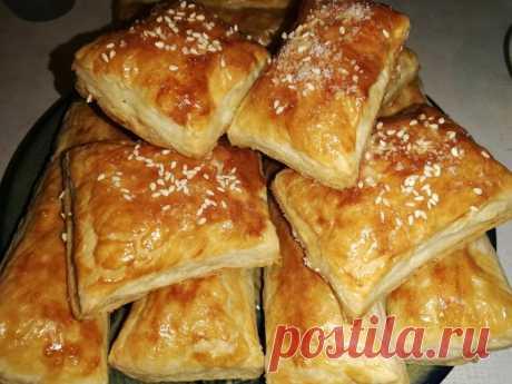 Слоеные булочки с сыром — Sloosh – кулинарные рецепты