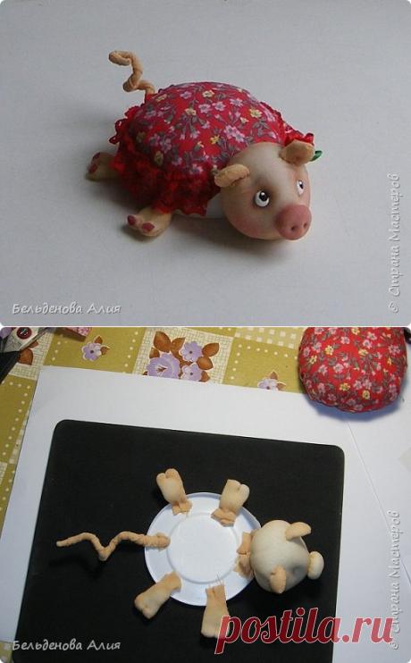 Школа кукольного мастерства Елены Лаврентьевой: МК игольницы Хрюши