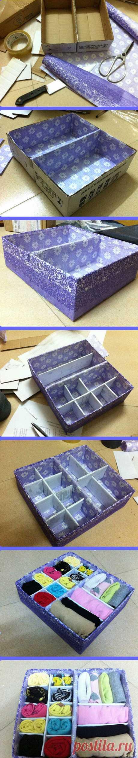 Diy Carton Container | Best DIY Ideas