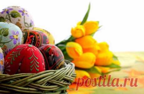 Несколько новых необычных рецептов к празднику Светлой Пасхи