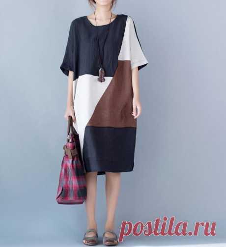 Women summer Dresses Raglan sleeve dress Pocket Dresses   Etsy