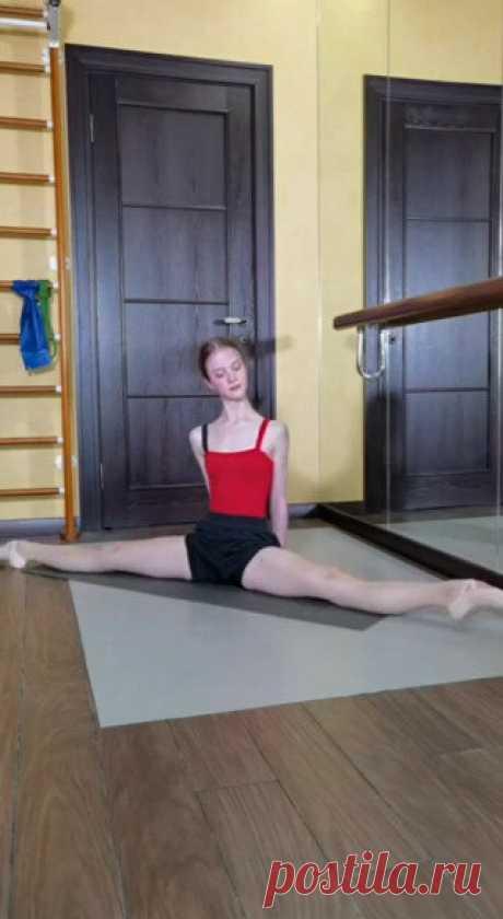 Упражнения на выворотность от балерины Софьи Хоревой.