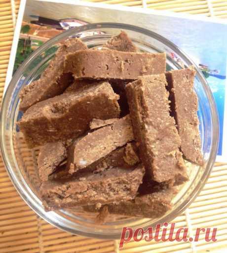 Сыроедческая подсолнечно-кокосовая халва | Rawway