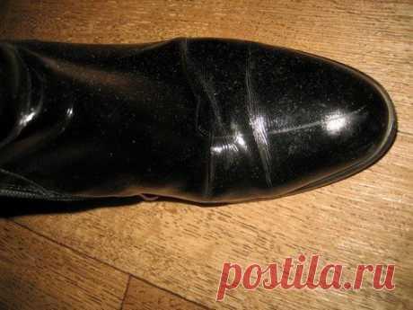 Царапины на обуви: как убрать и избавиться от них