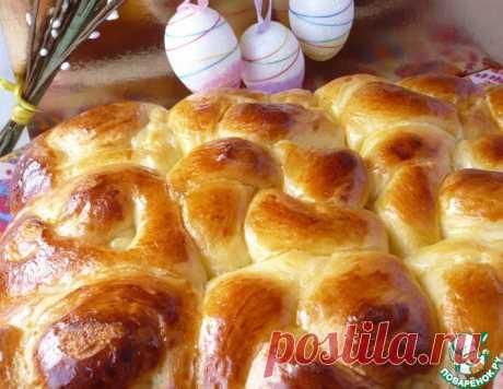 Фигурные пасхальные дрожжевые булочки – кулинарный рецепт