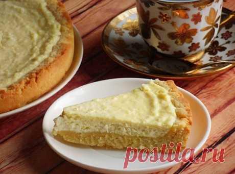 Пирог с творогом — Sloosh – кулинарные рецепты