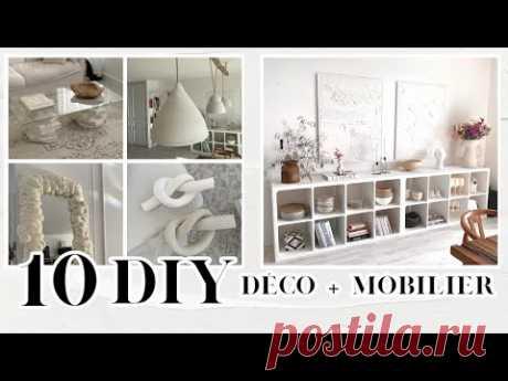 Je transforme mon salon avec 10 DIY Déco (Ikea Hacks) !! ✨💪🏼🛠
