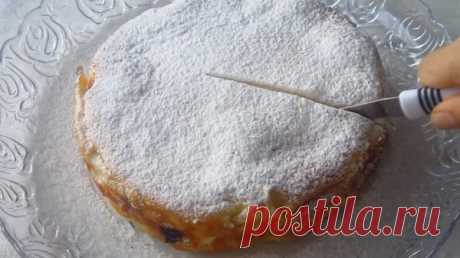 Красивый, необычный и очень вкусный пирог «Кружева» за 10 минут - interesno.win Очень вкусный пирог «Кружева» не требует много времени на приготовление: можно управиться...