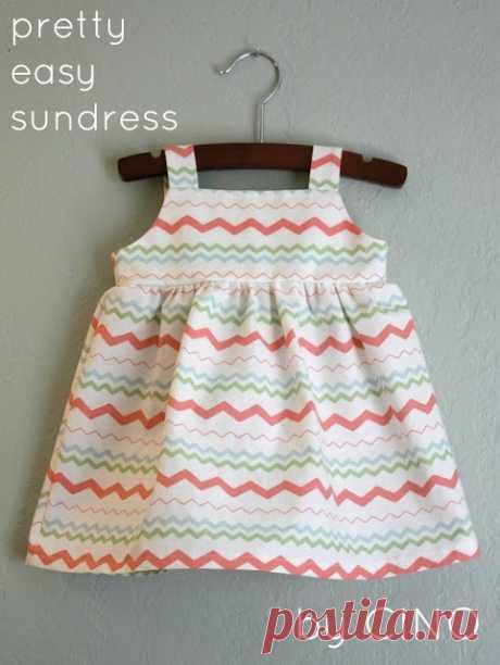 Шьем легкие сарафаны для маленькой и взрослой модниц — Делаем руками