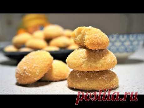 Печенье как Халва - Турецкое Курабье - Рассыпчатое печенье без яиц