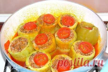 Фаршированные кабачки по рецепту турецкой свекрови (kabak dolması) рецепт 👌 с фото пошаговый
