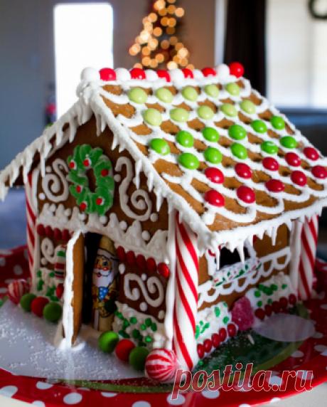 Пряничный домик своими руками на Новый год и Рождество | infoliepaja.lv
