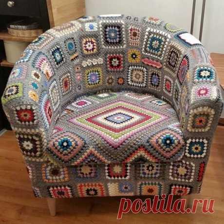 Неожиданный «бабушкин квадрат» | Магия Вязания / Knitting Magic | Яндекс Дзен