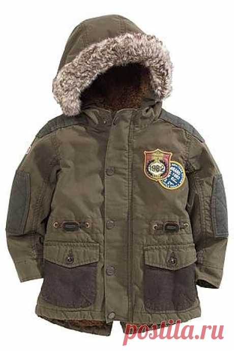 Buy Khaki Parka (3mths-6yrs) from the Next UK online shop