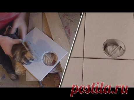 Как вырезать отверстие в плитке болгаркой