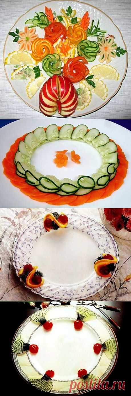 DECORATION OF DISHES