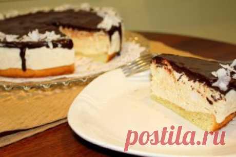 Торт Птичье молоко. Вкуснейший десерт пришедших из нашего детства, рецептов  приготовления существует несколько и этот способ называют  классическим