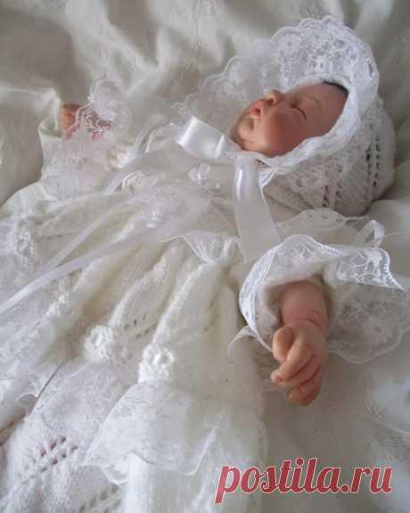 PDF Схема вязания 25 Reborn Платье Reborn для новорожденных | Etsy