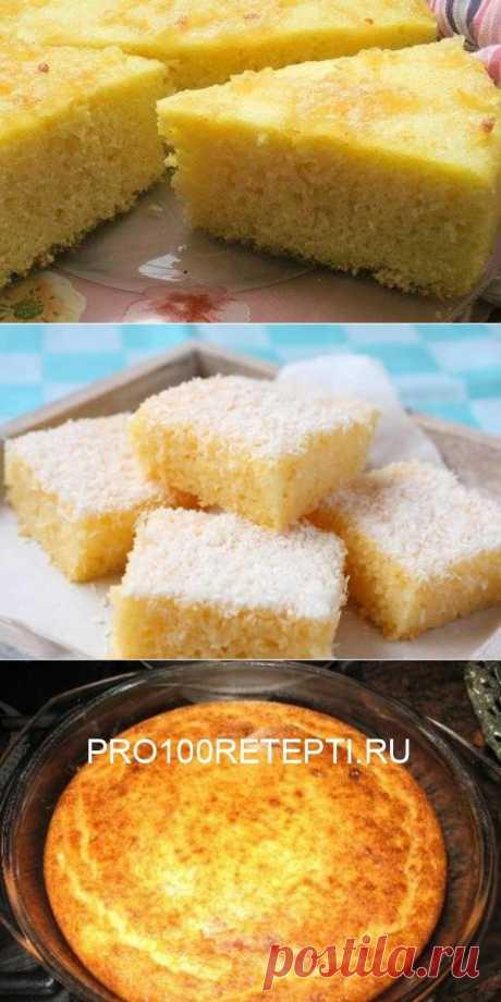 Манный торт в микроволновке за 6 минут: всего 4 ингредиента и море вкуса - pro100retepti.ru