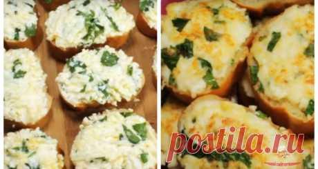 Бутерброды на завтрак - Сразу 2 рецепта
