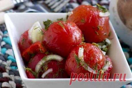 Маринованные помидоры - Пошаговый рецепт с фото своими руками Маринованные помидоры - Простой пошаговый рецепт приготовления в домашних условиях с фото. Маринованные помидоры - Состав, калорийность и ингредиенти вкусного рецепта.