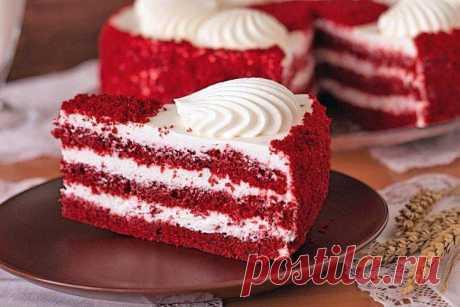 Торт «Красный бархат»: 5 лучших рецептов в домашних условиях