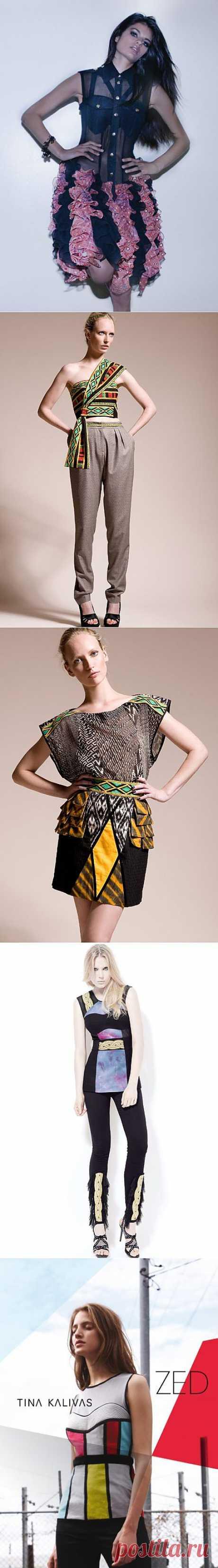 Tina Kalivas (трафик) / Дизайнеры / Модный сайт о стильной переделке одежды и интерьера