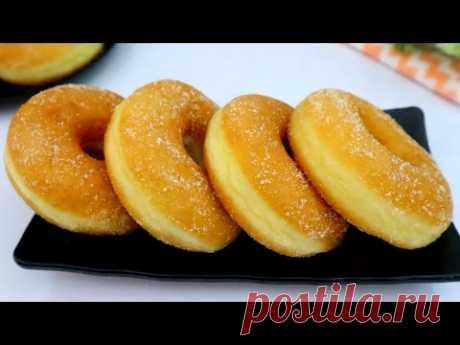 Рецепт мягких и пушистых домашних пончиков