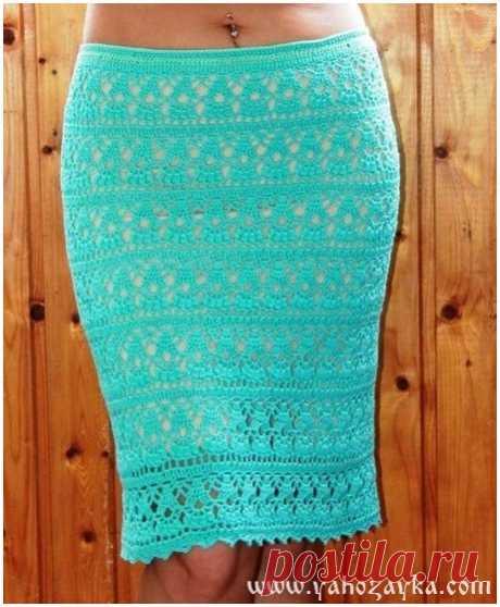 Юбка-карандаш крючком ажурным узором. Красивая юбка крючком схемы. Юбка-карандаш крючком ажурным узором. Красивая юбка крючком схемы.