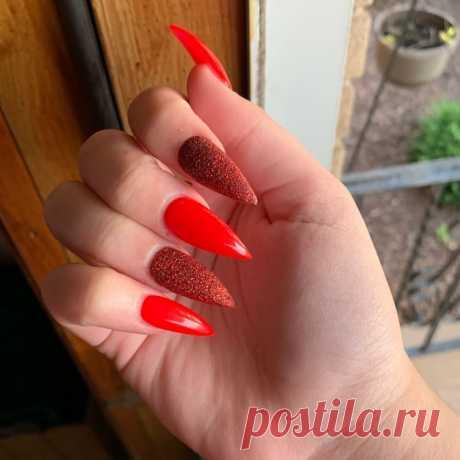 🔥🔥🔥 Instagram post by @2buis | Red hot chilli Glitter 🔥🔥 and the shape tho 🔪🔪🔪 #nails #nailshapes #stilleto #coffinshape #square #acrylics #acrylic #gel #gelpolish #color #gelnails #naillife #nailstyle #nailfashion #nailitmagazine #nailporn #rhinestones #design #naildesigns #art #nailstyleofficial #nailsonfleek #wakwupmakeup #makeup #pronail #nailsofinstagram #classynails #shinnynails #summer | 🔥 WAPINSTA