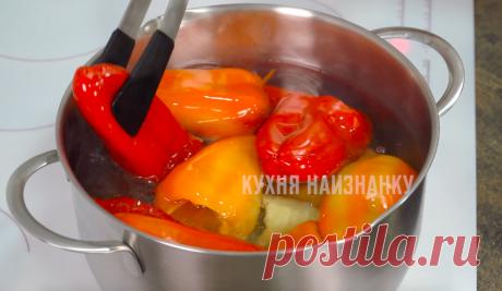Когда мало места в морозилке, перец заготавливаю по рецепту из 90-х: даже через 3 года как свежий (мой проверенный рецепт) | Кухня наизнанку | Яндекс Дзен