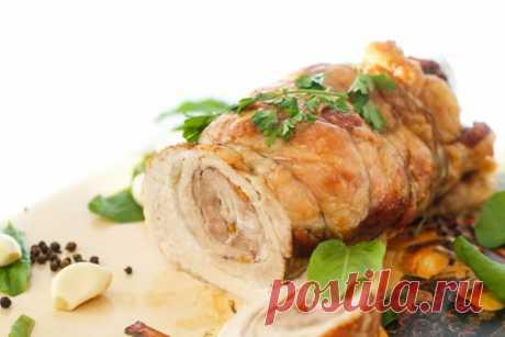 Блюда на Новый год: ТОП-5 рецептов рулета из свинины - Кулинарные советы для любителей готовить вкусно - Хозяйке на заметку - Кулинария - IVONA - bigmir)net - IVONA bigmir)net
