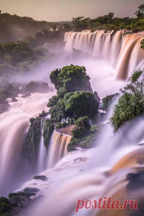 "italian-luxury: ""Iguazu Waterfalls """