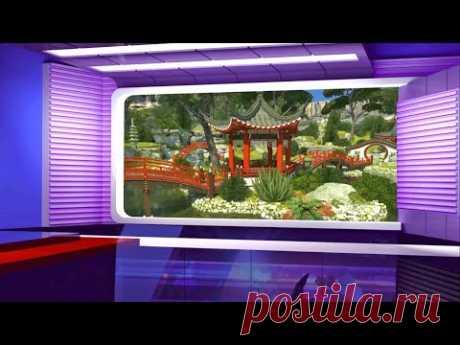 Virtual Studio Background, TV Studio Set, #BackgroundStarhill