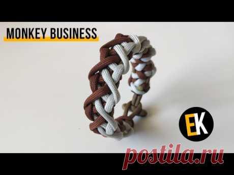 Браслет из паракорда Monkey Business | Pulsera paracord