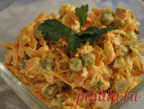 Как приготовить салат купеческий - настоящее объедение. - рецепт, ингредиенты и фотографии