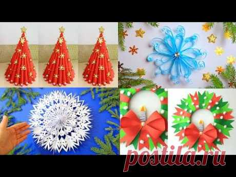 5 DIY Paper Christmas Decoration Ideas. Decor for Upcoming Christmas by Julia Datta
