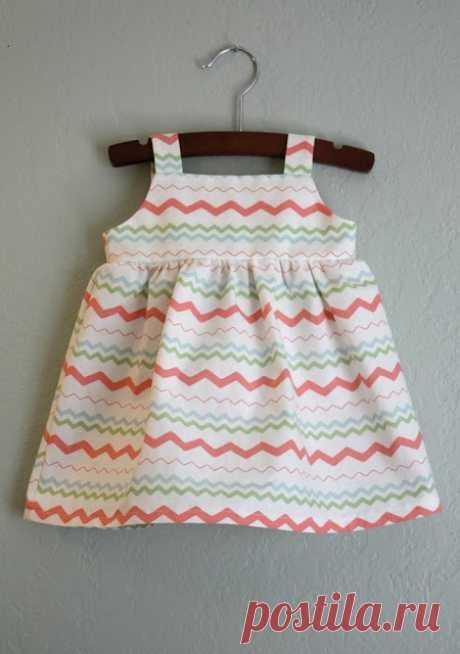 Шьем легкие сарафаны для маленькой и взрослой модниц