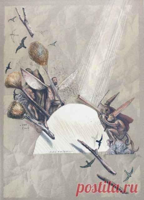 Болгарский художник-график. Димо Колибаров