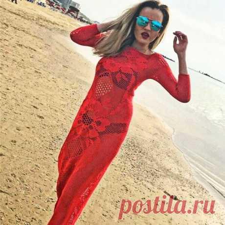 Изысканные платья крючком от Даны Романовой — мастера филейного кружева | Paradosik_Handmade | Яндекс Дзен