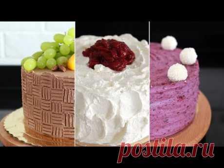 Trzy proste torty, dekorowane domowymi sposobami 💛💛