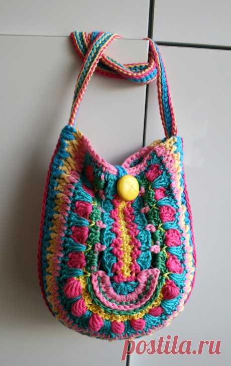 Crochet pattern crochet bag pattern crochet color bag   Etsy