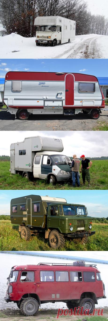 Восемь самодельных автодомов, чей внешний вид сильно проигрывает техническим характеристикам и оснащению.