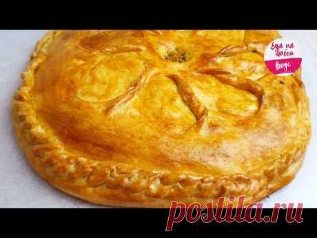 Пирог  Сочный и ПРОСТОЙ рецепт без дрожжей и соды