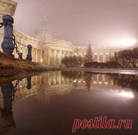 Туманный Санкт-Петербург. Автор фото: Александр Шереметев.